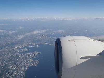 航空写真 離陸後20110429