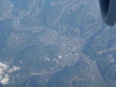 航空写真 眼下の川-20110429