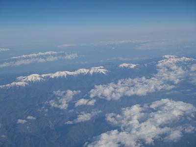 航空写真 南アルプス20110429