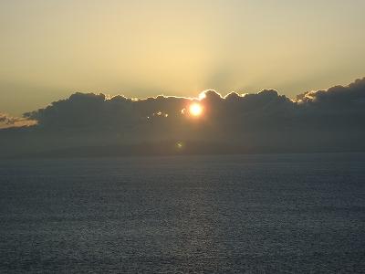 夕陽20110717