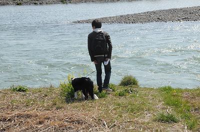 荒川l公園.川