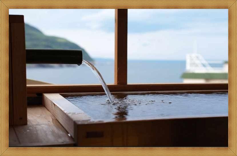 ゆんヒノキの風呂枠