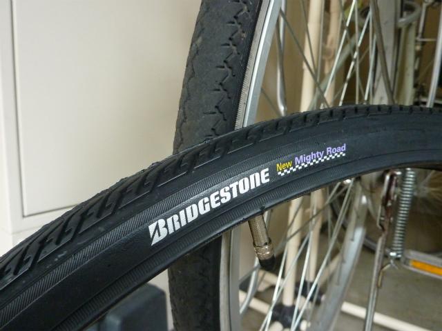 自転車の 自転車 チューブ交換 ママチャリ : 自動車のタイヤが買えそうな ...