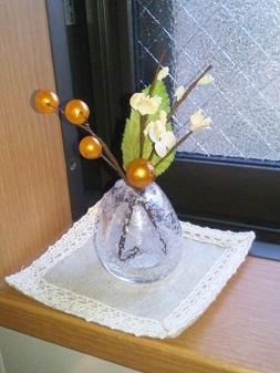 キッチン花
