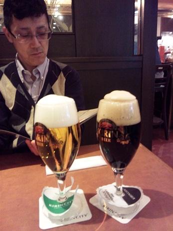 3時にビール