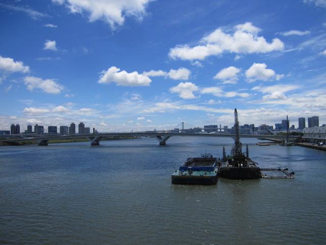 晴海大橋からの絶景?