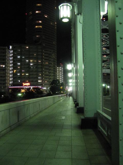 勝鬨橋 歩道