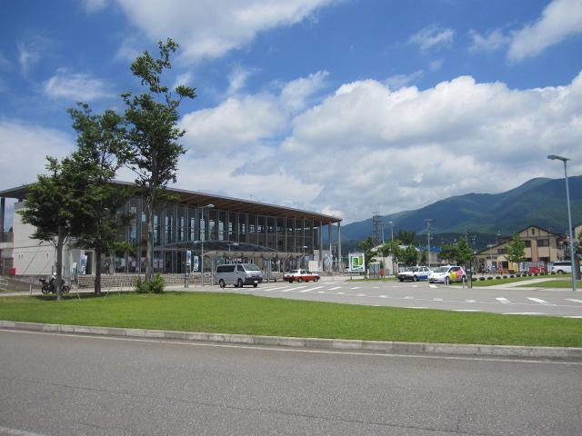 田沢湖駅前ろーたりー
