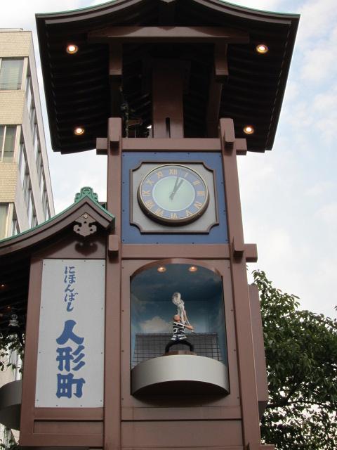 日本橋のからくり時計