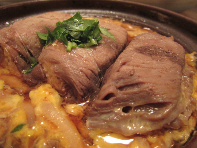 割烹の肉豆腐