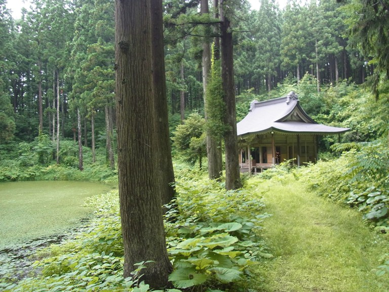 小沼と小沼神社