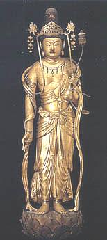 ボストン美術館蔵・快慶作弥勒菩薩立像