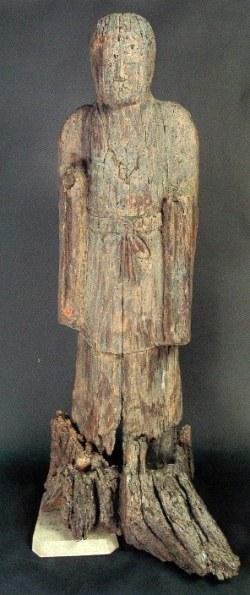 白山神社・女神像