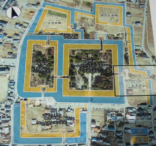 武田氏館地図