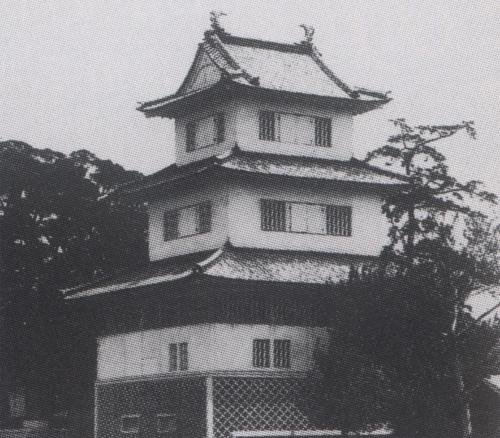 水戸城三階櫓古写真