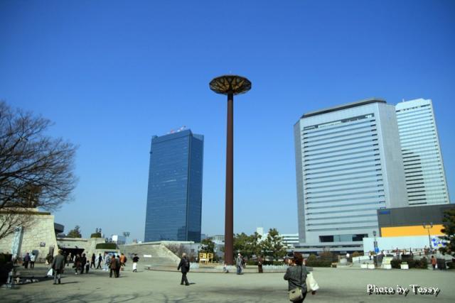 大阪城公園 噴水の所