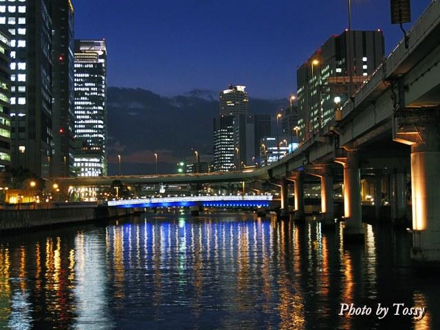 堂島川ライトアップ2