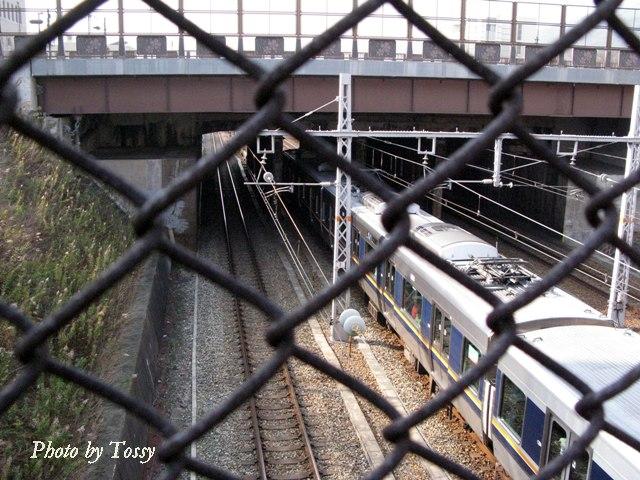 天井川トンネル