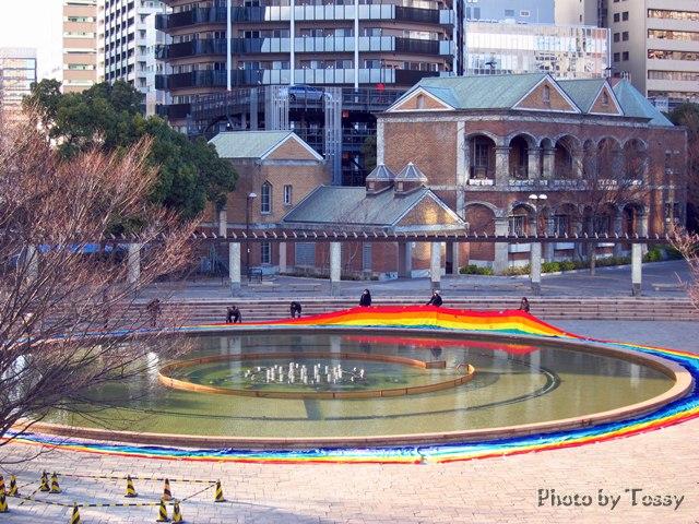 東遊園地噴水