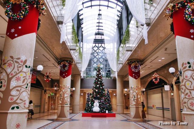 ディアモールのクリスマスツリー1