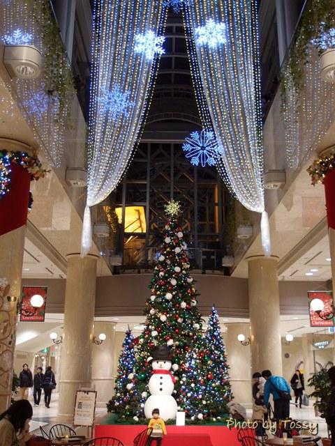 ディアモールのクリスマスツリー3