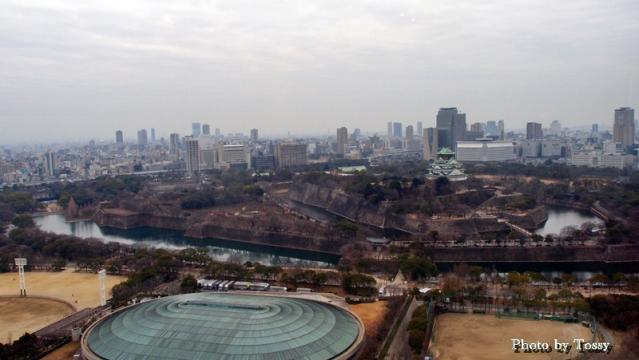 大阪城俯瞰