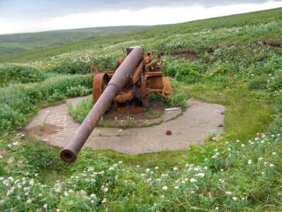 シュムシ島砲台400