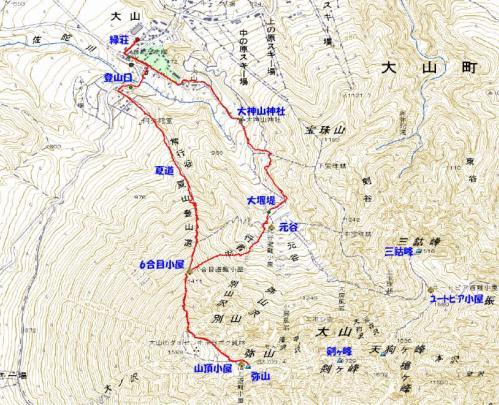 伯耆大山2010.3.21