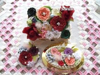 ロザフィ造花コラボ
