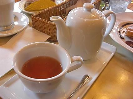 デザートハウス 紅茶(ダージリン)(550円)
