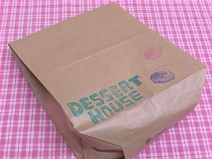 デザートハウス 紙袋