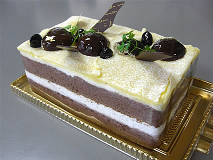 パンケーキ工房 クロワッサン マロンケーキ
