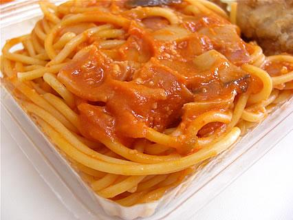PastaYa 募金弁当 中身(ナポリタン)