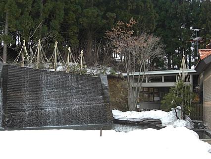 Healing Space Myuu(ヒーリングスペース ミュウ) 店の裏側(滝)