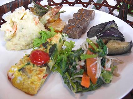 Healing Space Myuu(ヒーリングスペース ミュウ) 玄米菜食ランチ おかず