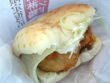 ケンタッキーフライドチキン 油淋鶏サンド
