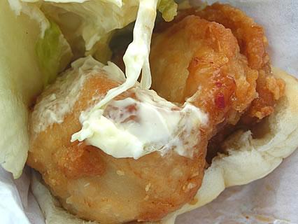 ケンタッキーフライドチキン 油淋鶏サンド 鶏フィレ肉