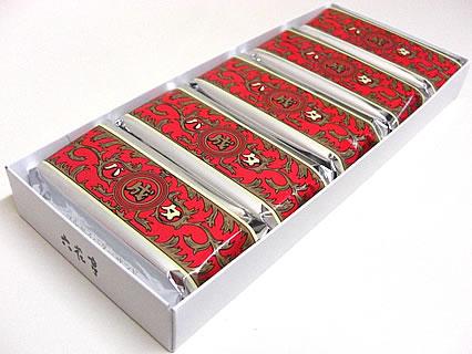 六花亭 マルセイバターサンド(5個入) 箱の中身