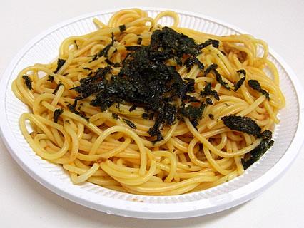 スパゲティー・ピザハウス あかさたな ウニとタラコ 中身