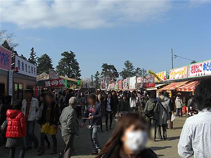 弘前公園 さくらまつり(2011年) 出店