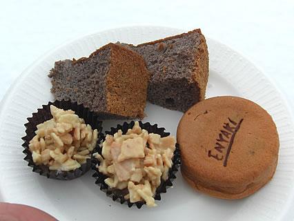 しかないせんべい チョコレートまつり 試食-2
