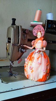 武藤華世先生の人形
