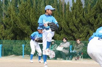 20110327鴨公招待三輪ジャガーズ戦 (10)