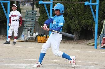 20110327鴨公招待三輪ジャガーズ戦 (104)
