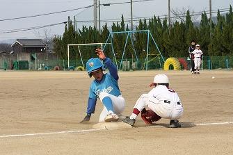 20110327鴨公招待三輪ジャガーズ戦 (138)