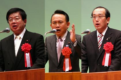 平口、中丸両衆議および松井市長