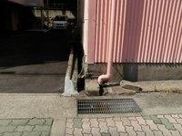 雨水配管ルート確保工事 神戸市灘区