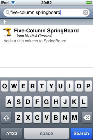 Five column SB1