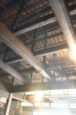 大平宿「紙屋」天井