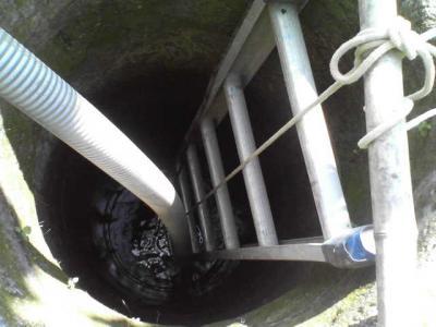 古井戸の中